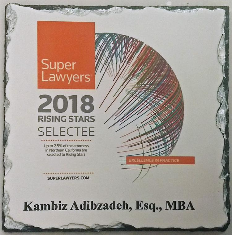 Kambiz Adibzadeh Awarded 2018 Rising Award